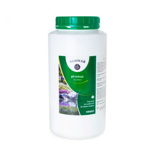 Vodnář pH minus 3 kg
