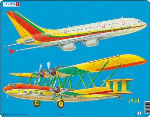 LARSEN Puzzle Letecká doprava, 23 dílků