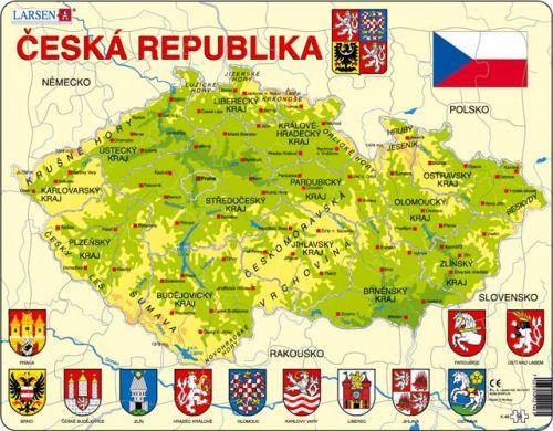 LARSEN Mapa ČESKÁ REPUBLIKA
