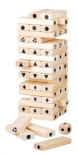 Rappa hra věž Jenga dřevo cena od 0 Kč