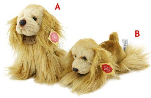 Rappa plyšový pes kokršpaněl 20 cm sedící, leží cena od 142 Kč