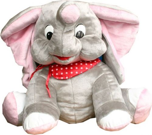 Rappa plyšový slon Mumbai 75 cm cena od 877 Kč