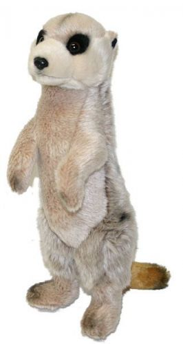 Rappa plyšová surikata stojící 33 cm
