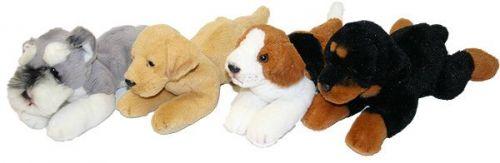 Rappa plyšový pes ležící 16 cm cena od 0 Kč