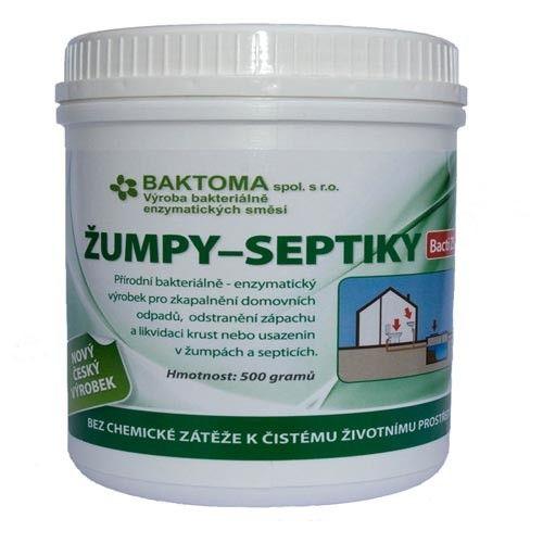 BAKTOMA Žumpy-septiky Bacti ZS 500g