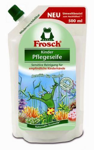 Frosch tekuté mýdlo pro děti náhradní náplň 500 ml