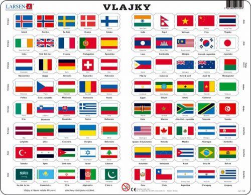 LARSEN Vlajky světa