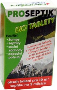 PROXIM Proseptik BIO tablety do septiku 3x20 g