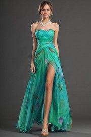 eDressit Plesové šaty s rozparkem - Srovname.cz 32a409b6ab
