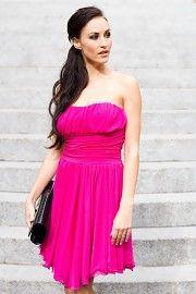 Angelika společenské krátké šaty