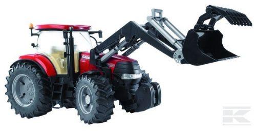 BRUDER Traktor Case CVX 230 s čelním nakladačem