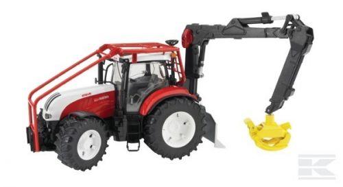 BRUDER Lesní traktor Steyer CVT 6230 cena od 750 Kč