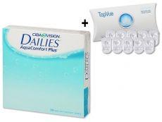 Ciba Vision Focus Dailies AquaComfort Plus (30 čoček)