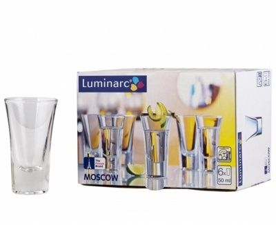 Luminarc Moscow panáková sklenka 6 ks, 50 ml cena od 64 Kč
