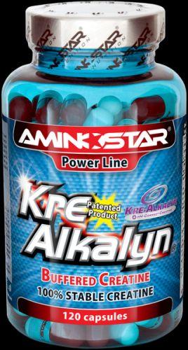 Výsledek obrázku pro Aminostar Kre-Alkalyn 120 kapslí