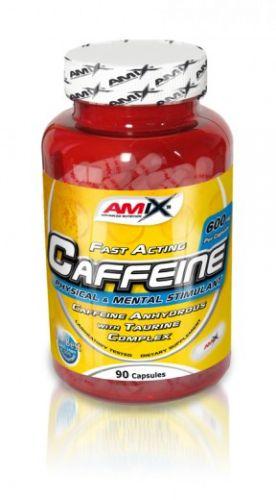 Amix Caffeine 200 mg with Taurine 90 kapslí
