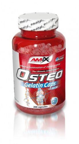 Amix Osteo Gelatine + MSM 400 kapslí