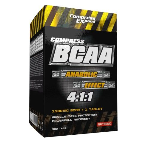 Nutrend COMPRESS BCAA 4:1:1 300 tablet