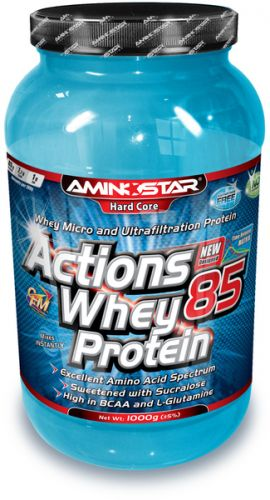 Aminostar Whey Protein Actions 85 - 1000 g