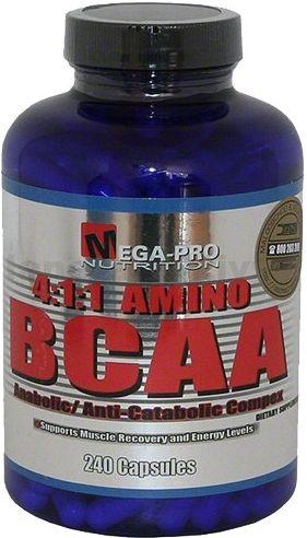 Mega Pro Nutrition 4:1:1 Amino BCAA 240 kapslí