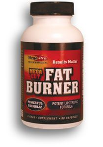 Mega Pro Nutrition Mega Fat Burner 120 kapslí