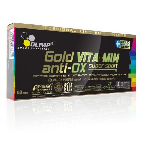 Olimp Gold Vita-Min Anti-Ox 60 kapslí