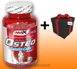 Amix OsteoGelatine + MSM 200 kapslí