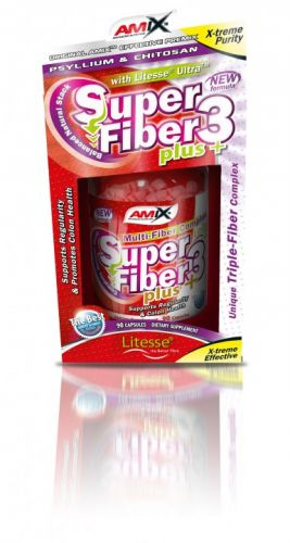 Amix Super Fiber3 Plus 90 kapslí
