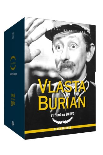 Vlasta Burian 1. - Zlatá kolekce - 7DVD