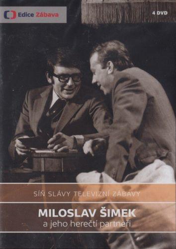Šimek, Grossmann: Síň slávy - Miloslav Šimek - 4 DVD