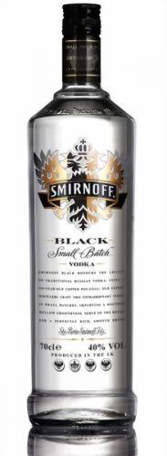VODKA SMIRNOFF BLACK 0,7 L cena od 399 Kč