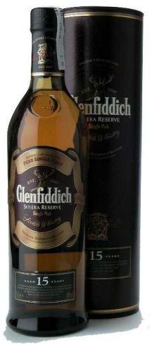 GLENFIDDICH SOLERA RESERVE 15 LET 0,75 L