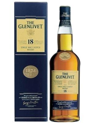 GLENLIVET WHISKY 18 let 7 L