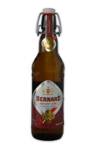 BERNARD JANTAR 0,5 L SKLO