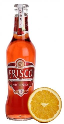 FRISCO BRUSINKA 0.33 L SKLO