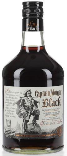 CAPTAIN MORGAN BLACK SPICED 0,7 L cena od 399 Kč