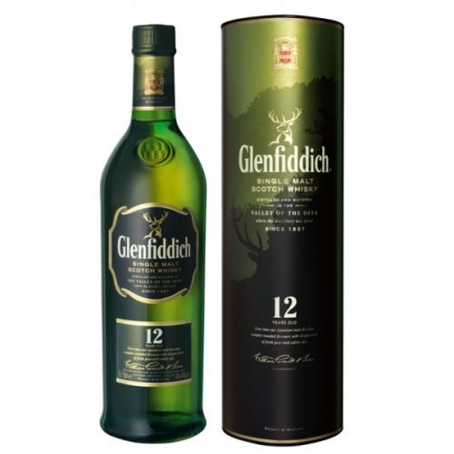 Glenfiddich 12 let 0,7 L