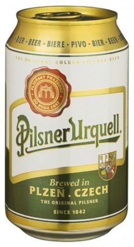 PILSNER URQUELL 12° 0,33 L plech