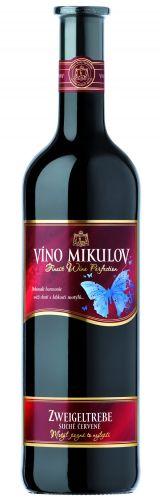 Víno Mikulov ZWEIGELTREBE 0,75 l