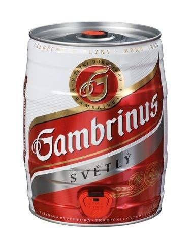 GAMBRINUS 10° 5 L sud