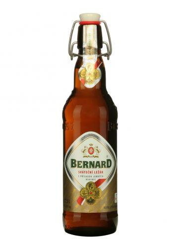BERNARD Sváteční ležák 12° 0,5 L sklo