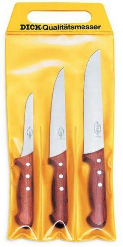 F. Dick Sada 3 nožů s dřevěnou rukojetí cena od 2114 Kč