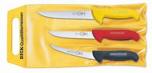 DICK Sady 3 nožů Dick ve třech barvách, ErgoGrip cena od 1569 Kč