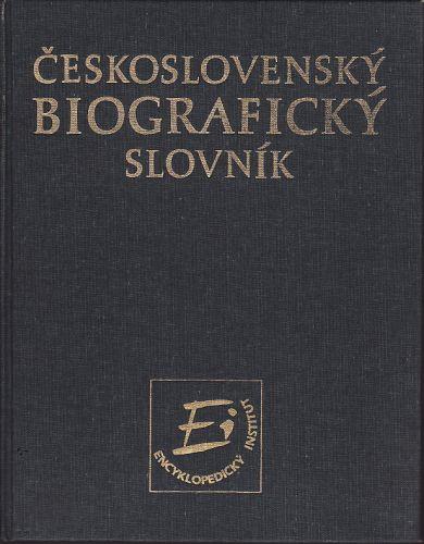 Československý biografický slovník cena od 150 Kč