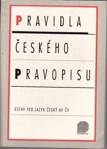 Pravidla českého pravopisu cena od 100 Kč