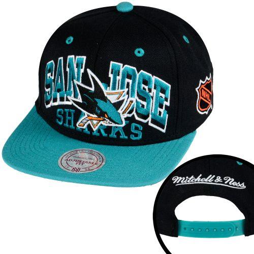 Mitchell   Ness 2x Arch San Jose Sharks Snapback Kšiltovka - Srovname.cz f43d718004