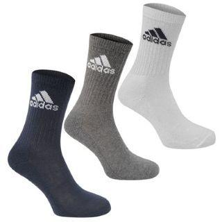 adidas Crew 3 Pack ponožky