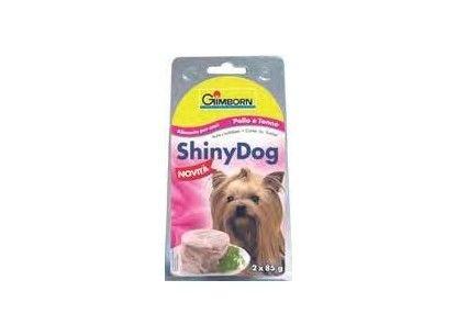 Gimborn Shiny Dog kuře & jehně 2x85 g