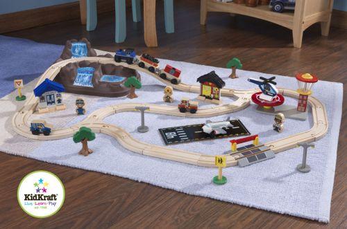 KidKraft Herní set vlaková souprava