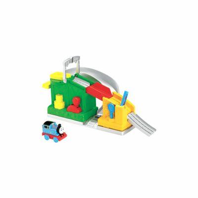 Mattel Mašinka Tomáš Fisher Price rušná trať cena od 718 Kč